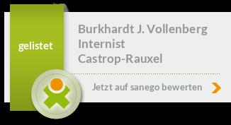 Siegel von Burkhardt J. Vollenberg