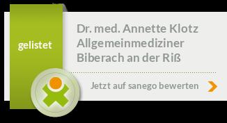 Siegel von Dr. med. Annette Klotz