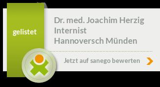 Siegel von Dr. med. Joachim Herzig