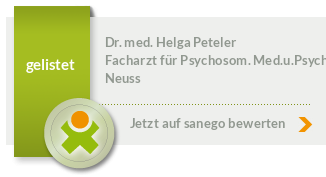 Siegel von Dr. med. Helga Peteler