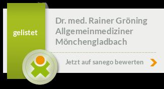 Siegel von Dr. med. Rainer Gröning