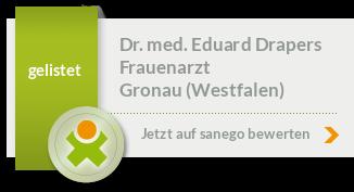 Siegel von Dr. med. Eduard Drapers
