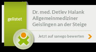 Siegel von Dr. med. Detlev Halank