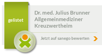 Siegel von Dr. med. Julius Brunner