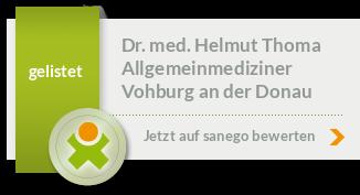 Siegel von Dr. med. Helmut Thoma