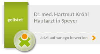 Siegel von Dr. med. Hartmut Kröhl