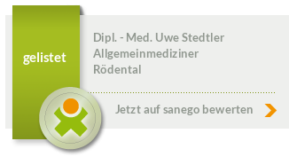 Siegel von Dipl. - Med. Uwe Stedtler