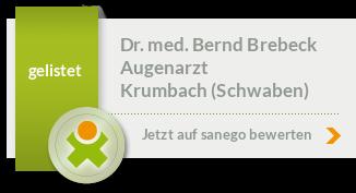 Siegel von Dr. med. Bernd Brebeck