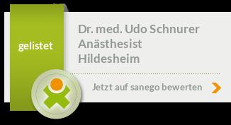Siegel von Dr. med. Udo Schnurer