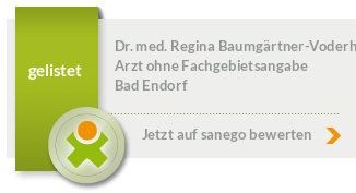 Siegel von Dr. med. Regina Baumgärtner-Voderholzner