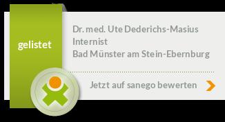 Siegel von Dr. med. Ute Dederichs-Masius