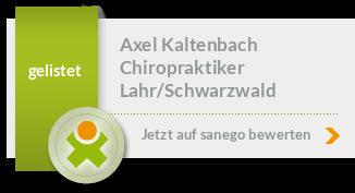 Siegel von Axel Kaltenbach