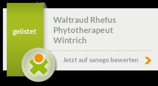 Siegel von Waltraud Rhefus