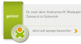Siegel von Dr. med. dent. Katharina Wedegärtner