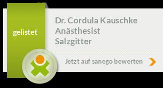 Siegel von Dr. Cordula Kauschke