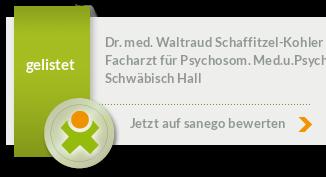 Siegel von Dr. med. Waltraud Schaffitzel-Kohler