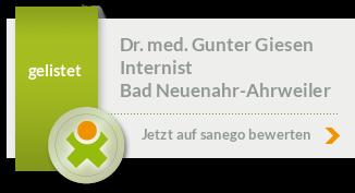 Siegel von Dr. med. Gunter Giesen