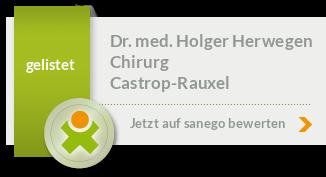 Siegel von Dr. med. Holger Herwegen