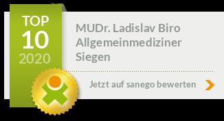 Siegel von MUDr. Ladislav Biro