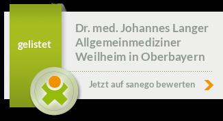 Siegel von Dr. med. Johannes Langer