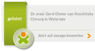Siegel von Dr. med. Gerd-Dieter von Koschitzky