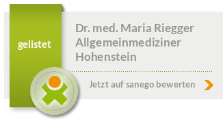 Siegel von Dr. med. Maria Riegger
