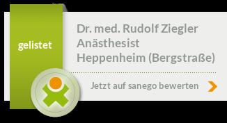 Siegel von Dr. med. Rudolf Ziegler