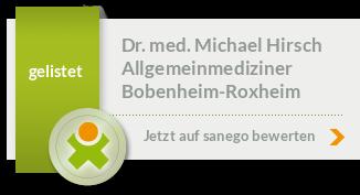 Siegel von Dr. med. Michael Hirsch