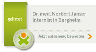 Siegel von Dr. med. Norbert Janser