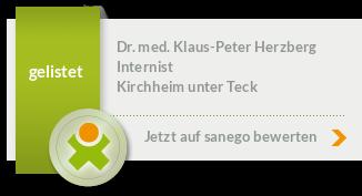 Siegel von Dr. med. Klaus-Peter Herzberg