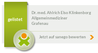 Siegel von Dr. med. Ahlrich Elso Klinkenborg