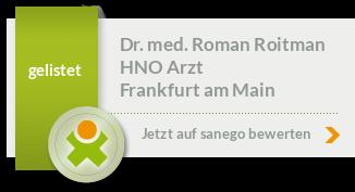 Siegel von Dr. med. Roman Roitman