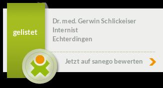 Siegel von Dr. med. Gerwin Schlickeiser